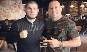 Georges St-Pierre signs for Marvel awaiting the summit between Khabib and Dana White in the UFC