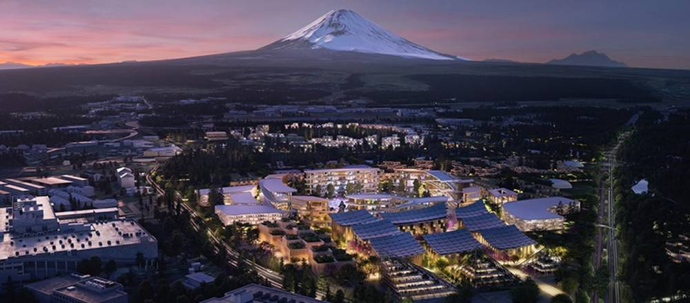 This is the totally technological city that Japan will build at the foot of Mount Fuji