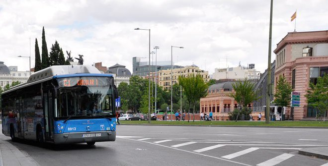Soon you will be able to pay for the bus in Madrid with your mobile