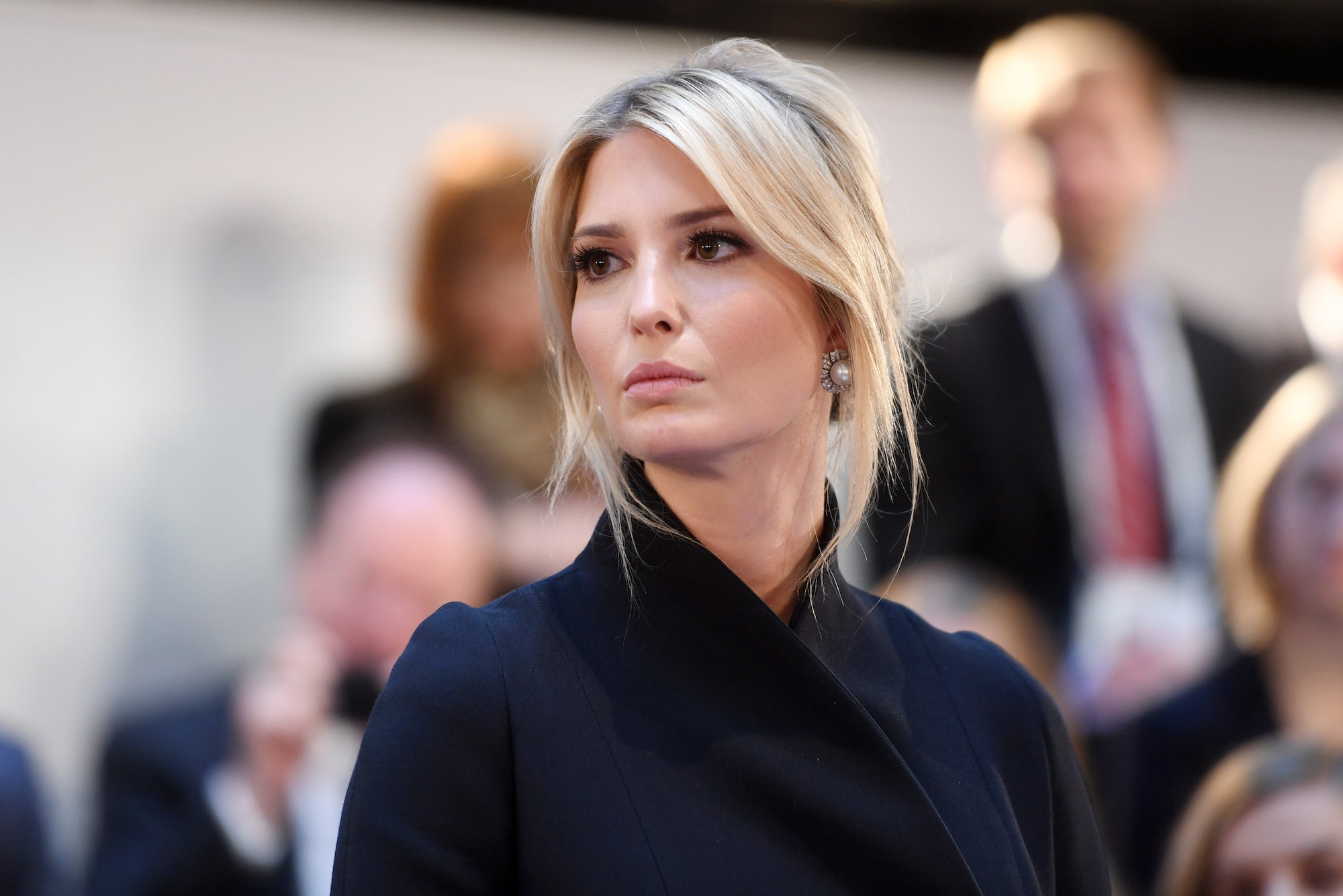 Ivanka Trump, the controversial guest of the great technology fair in Las Vegas