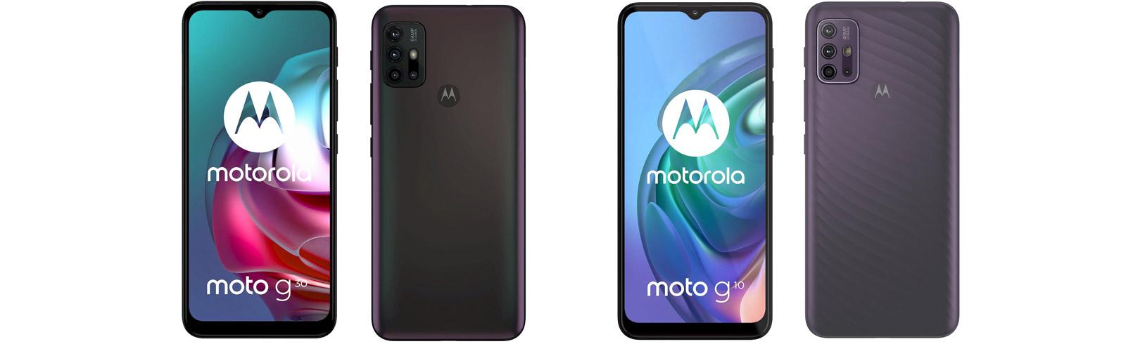 Moto G10 and Moto G30: Motorola renews its mid-low range